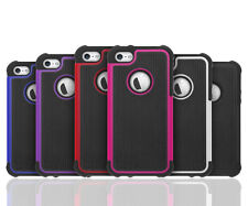 Matte Rubber Hybrid Rugged Shockproof Hard Case Cover Skin For iPhone 4g 4s