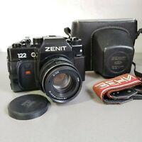 ZENIT 122 SLR camera USSR  lens Helios 44M-4