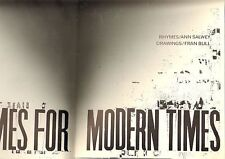 """MORDANT RHYMES FOR MODERN TIMES (1990) great political art & """"kids"""" rhymes"""