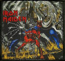 """IRON MAIDEN AUFNÄHER / PATCH """"14"""" NUMBER OF THE BEAST"""