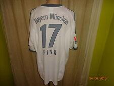 Bayern Monaco Adidas Trasferta Maglia 2002-2004 + N. 17 Fink TG. XXL Top
