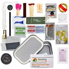 APZ Mini Survival Tin / Compact Survival Kit - Just Arrived - Only 105g weight