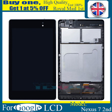 For Asus Google Nexus 7 2nd Gen 2013 Screen LCD Touch Digitizer Display + Frame
