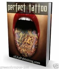 Perfect Tattoo Ebook or CD and resell rights ++++