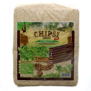 Chipsi Snake 2kg Ultra Fine Shaved Softwood Reptile Snake Substrate Absorbent
