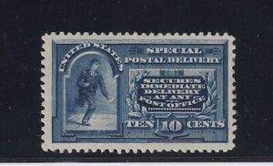 E4 XF OG PF certificate mint previously hinged nice color cv $ 900 ! see pic !