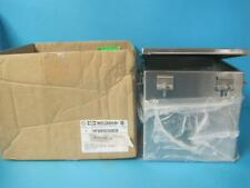 New Hubbell Wiegmann N4X JIC Box Continuous Hinge Panel Installed BN40808008CHSS