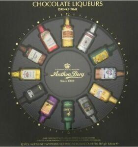 ANTHON BERG CHOCOLATE LIQUEURS DRINKS TIME 24 LIQUEURS (be2u)
