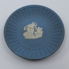 "Wedgwood Jasperware Small Plate Dish 11.5 cm 4.25"" Wide Made in England Vintage"