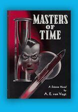 Masters of Time A.E. van Vogt Signed & Inscribed Fantasy Press HC Ltd Ed Book