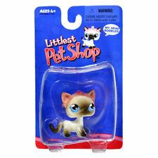 Littlest Pet Shop Siamese Kitty Cat Pink Tiara Retired 2004 LPS #5 Short Hair
