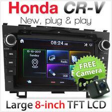"8"" Car DVD MP3 Player Honda CR-V CRV Stereo Radio Head Unit CD MP4 Fascia Kit KT"