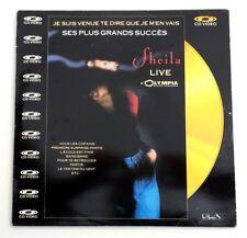 LASERDISC / SHEILA - LIVE OLYMPIA (CONCERT-MUSIQUE) CD VIDEO PAL TV