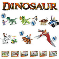 6pcs Jurassic World Park Dinosaurs Set Educational Building Blocks Series AU
