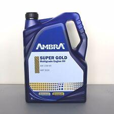 OLIO MOTORE SUPER GOLD 15w40 5LT AMBRA PETRONAS TRATTORI MACCHINE AGRICOLE