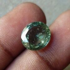 7.00 Ct Natural Apatite yellow blue green oval cut loose gemstones