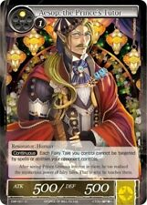 Force of Will TCG  x 4 Aesop, the Prince's tutor - CMF-001 - U - 1st Printing [N