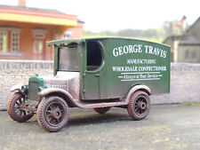 OO GAUGE VINTAGE FORD GEORGE TRAVIS VAN (LINESIDE WEATHERED)