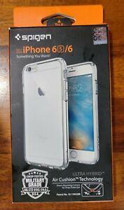 Spigen iPhone 6S 6 Ultra Hybrid Case Air Cushion Crystal Clear SP1335B-E