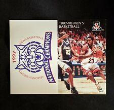 1997-98 University of Arizona Men's Basketball Schedule  - Michael Dickerson