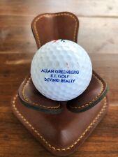 Logo Golf Ball Allan Greenberg K.I. Golf Devinki Realty