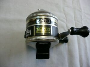 VINTAGE ZEBCO 733 HAWG SPIN CASTING FISHING REEL MADE IN USA