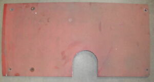 Case IH Hood Filler Cover 138668A1 Fits 3200 and 4200 Tractor with Vertical E...