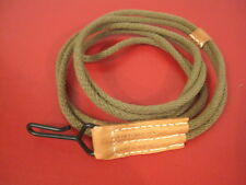 WWII US Army M1943 Hickok Pistol Lanyard for Colt M1911 .45acp - Reproduction
