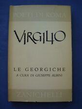 CLASSICI LATINI-POETI DI ROMA-VIRGILIO-LE GEORGICHE-ZANICHELLI