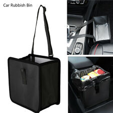 Auto Car Waste Basket Leakproof Trash Can Bin Rubbish Storage Bag Collapsible