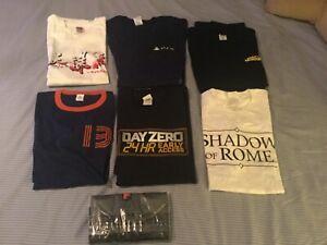 6 Videogame T-shirts Lot