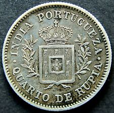 More details for  portugal-india: luis i 1881 rupee.                      ch2-542