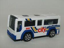 "Matchbox Superfast 2004 City Bus White ""Transportation Services"" Mint Unboxed"