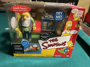 Simpsons Retirement Castle With Jasper World Of Springfield Playmates Wos
