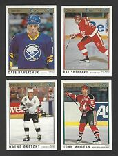 1991/92 OPC Upper Deck Parkhurst Score Bowman+ Hockey - Finish Your Set- Pick 20