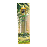 King Palm King Rolls Leaf Organic - 1 PACK - Natural 2 Per Pack Filter FAST SHIP