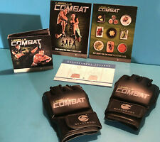Les Mills ~ Body Combat Bundle ~ 5 Dvd set~ Includes Gloves (Medium) ~ Beachbody
