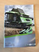 Deutz Fahr Combine 9000 Series Sales Brochure