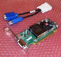 Dell Optiplex 580 390 740 755 760 780 Tower Dual VGA Monitor Video Card PCIe x16