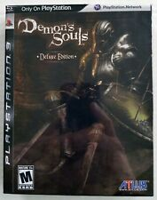 Demon's Souls Deluxe Edition (PS3) + 160-page Strategy Guide – NEW / SEALED