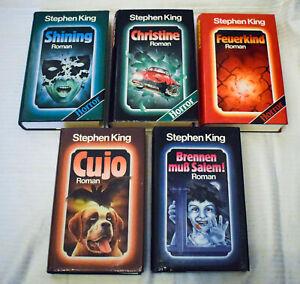 Stephen King - Sammleredition alle 5 Bücher komplett  gebundene Ausgabe Sammlung
