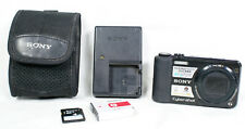 "Sony DSC-HX7V 16.2MP Digital Camera 1080 Video 3.0""LCD 4GB,Case,Battery,Charger"