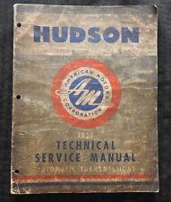 1955 Hudson Vespa Rambler Hydra-Matic Ultra-Matic Trasmissione Riparazione Libro