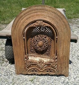 Antique Victorian Fireplace Summer Cover