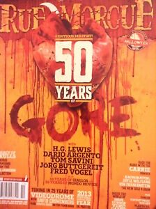 Rue Morgue Magazine 50 Years Of Gore H.G. Lewis October 2013 No.138 121417nonrh