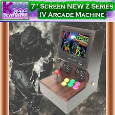 "KASA 7"" Screen Z Series IV Arcade Machine 400 Video Games 32Bit CPU 4GB memory"