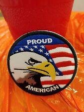 Proud America Eagle Patch Great for a Hat