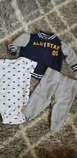 Carters Boys 3 Pc Football Outfit