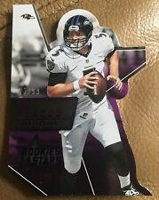 2015 Panini Joe Flacco rookies & stars NFL football card #5 mint Ravens 77/99