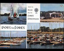 PORT-la-FORET / FOUESNANT (29) BATEAUX au CENTRE de YACHTING en 1979